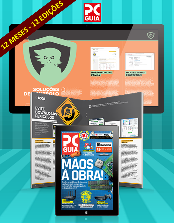 Assinatura Digital da Revista PCGuia (12 Meses)