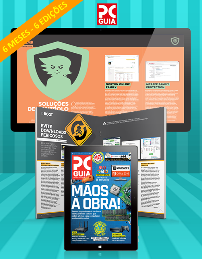 Assinatura Digital da Revista PCGuia (6 Meses)