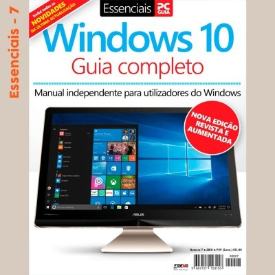 Essenciais PCGuia 07 - NOVO Guia Completo Windows 10