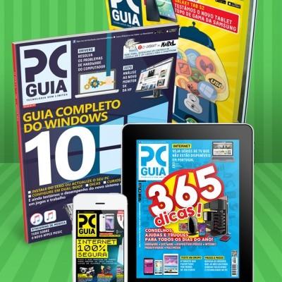 Assinatura 12 Meses Revista PCGuia (Papel + Digital)