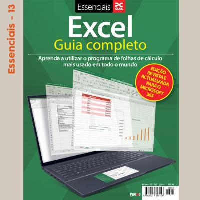 Essenciais PCGuia 13 - Excel Guia Completo, Revisto e actualizado