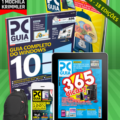 Assinatura 18 Meses Revista PCGuia (Papel + Digital) + Oferta