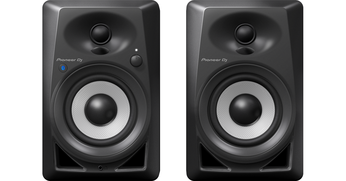 DM-40BT par de Mini Monitores de Estúdio PIONEER