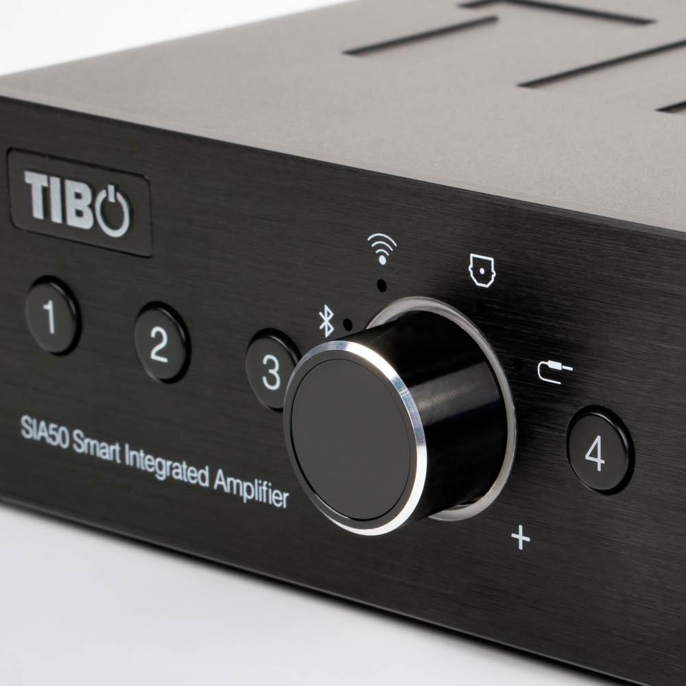 TIBO - SIA50 Amplificador Integrado HIFI de Streaming Multiroom
