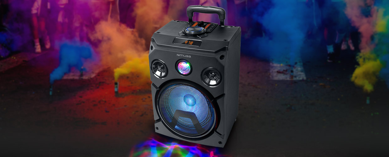 MUSE M-1915 DJ PARTY BOX Bluetooth