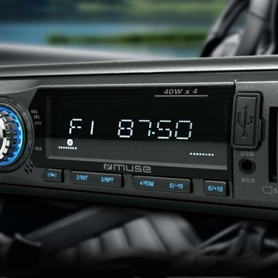M-199 BT Autorrádio Com Bluetooth + SD + USB MUSE
