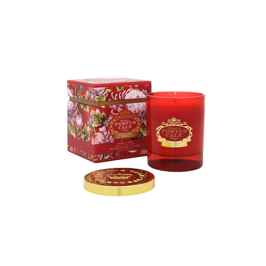 Castelbel Portus Cale - Vela Aromática Noble Red