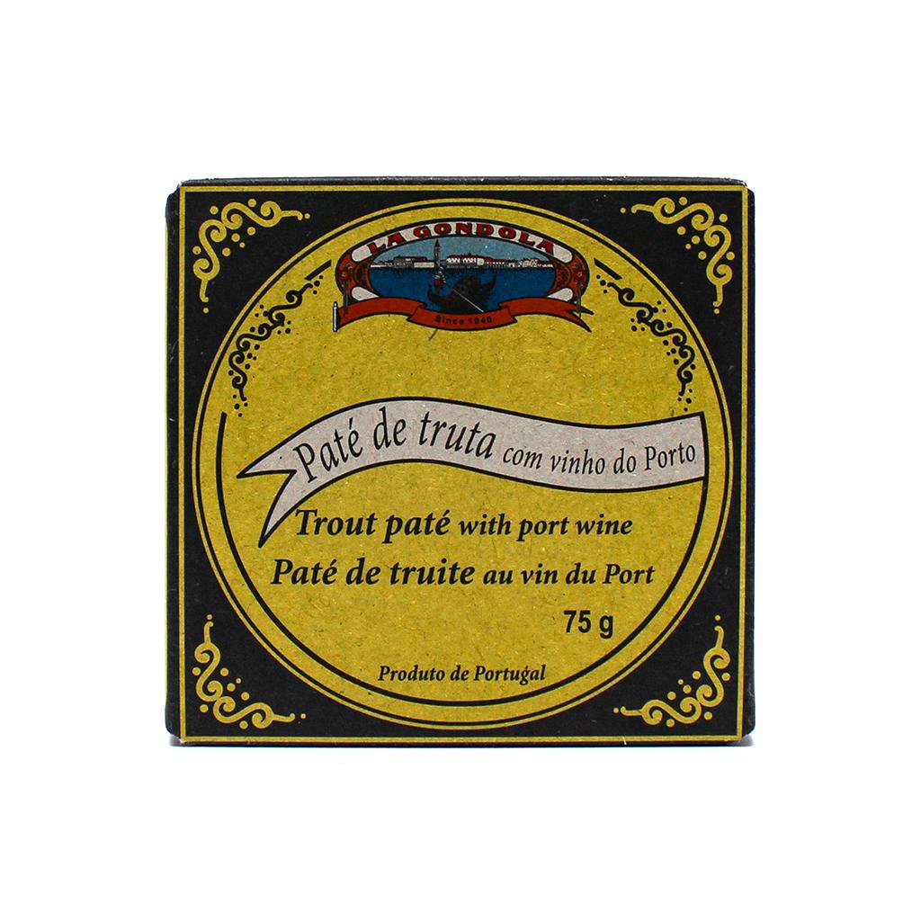 La Gondola - Paté de Truta com Vinho do Porto 75g