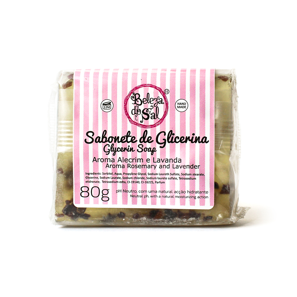 Beleza do Sal - Sabonete de Glicerina  80g