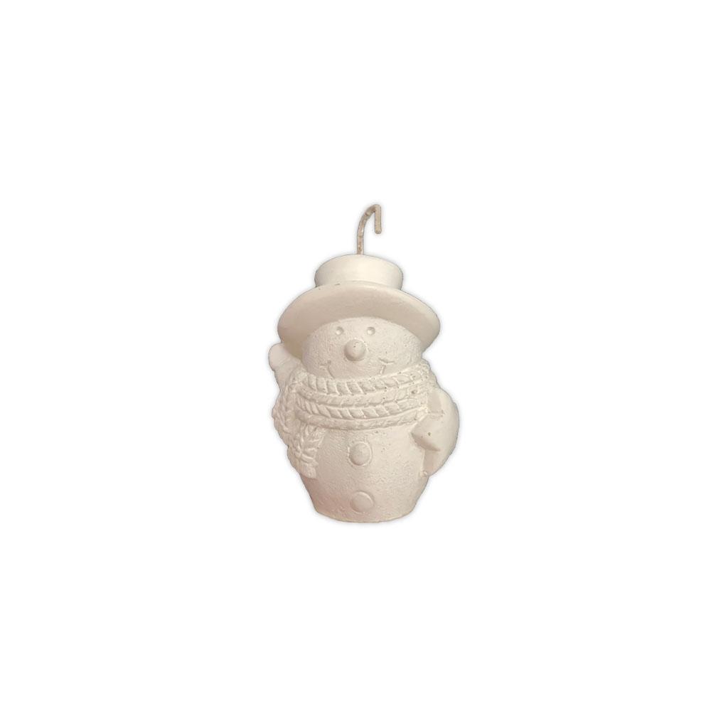 Manulena - Vela Decorativa Boneco de Neve