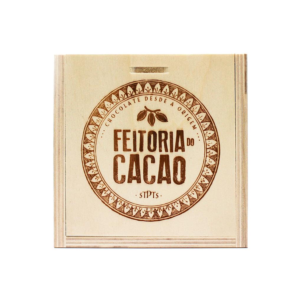 Feitoria do Cacao - Caixa de madeira