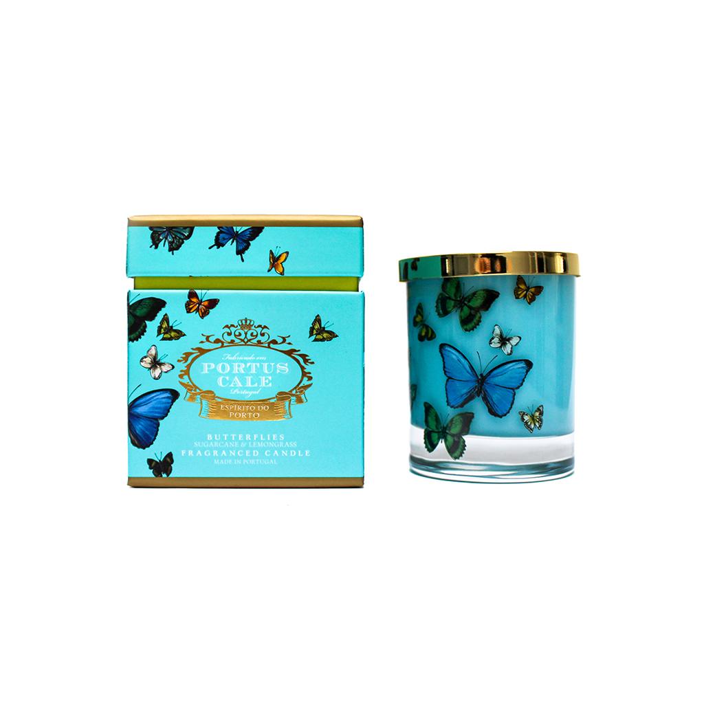 Castelbel Portus Cale - Vela Aromática Butterflies
