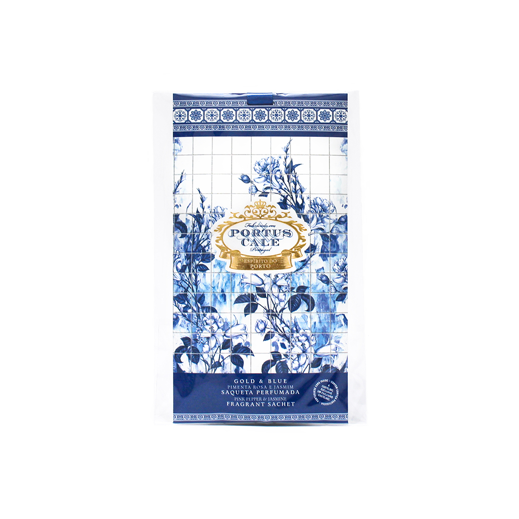 Castelbel Portus Cale - Saqueta Perfumada Gold & Blue