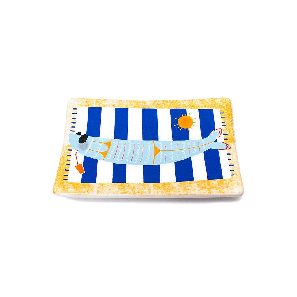 Por ti Perco a Cabeça - Saboneteira Sardinha na Praia