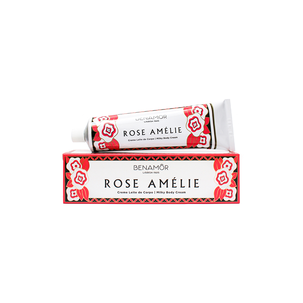 Benamôr - Creme Leite de Corpo Rose Amélie