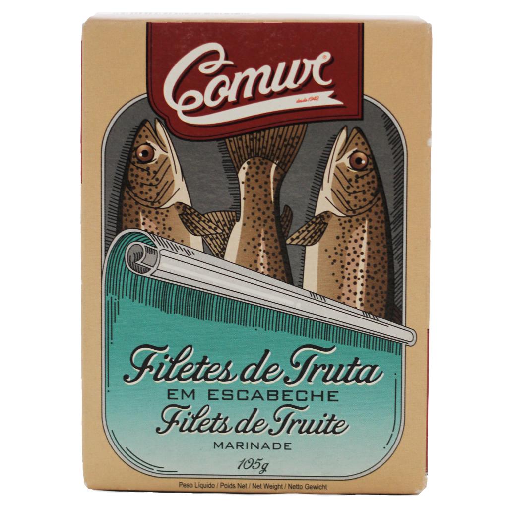 Comur - Filetes de Truta em Escabeche