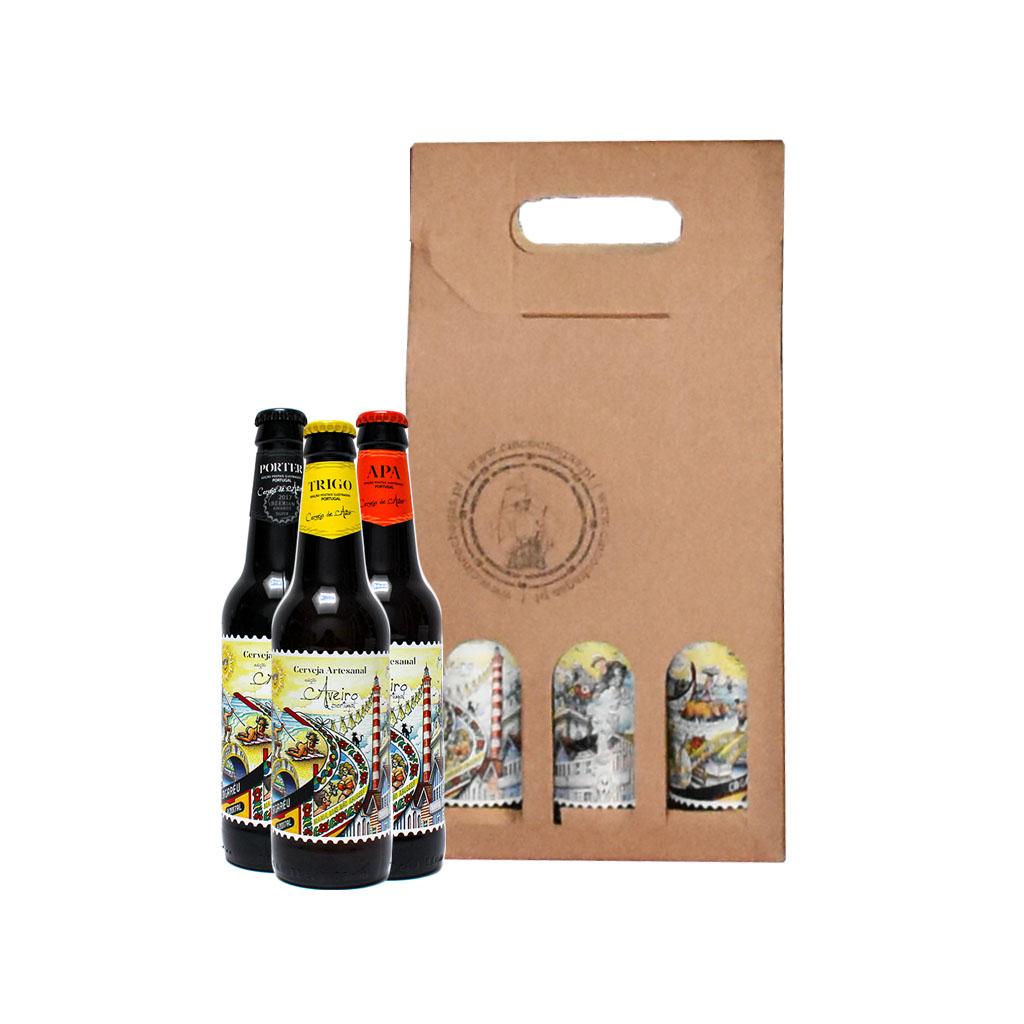Cinco Chagas - Caixa com 3 Cervejas Artesanais