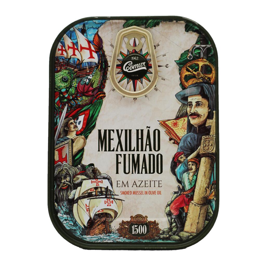 Comur - Mexilhão Fumado em azeite