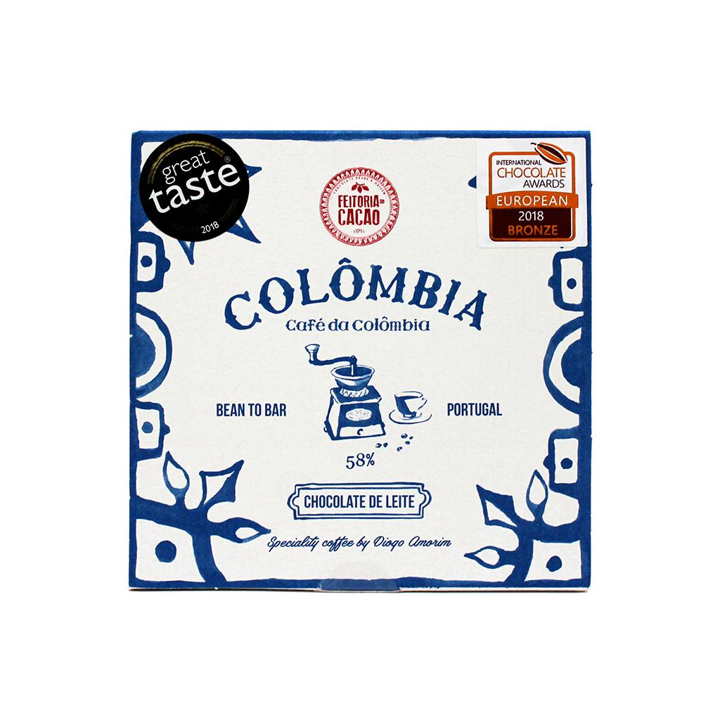 Feitoria do Cacau - Chocolate de Leite 58% Colômbia 50g