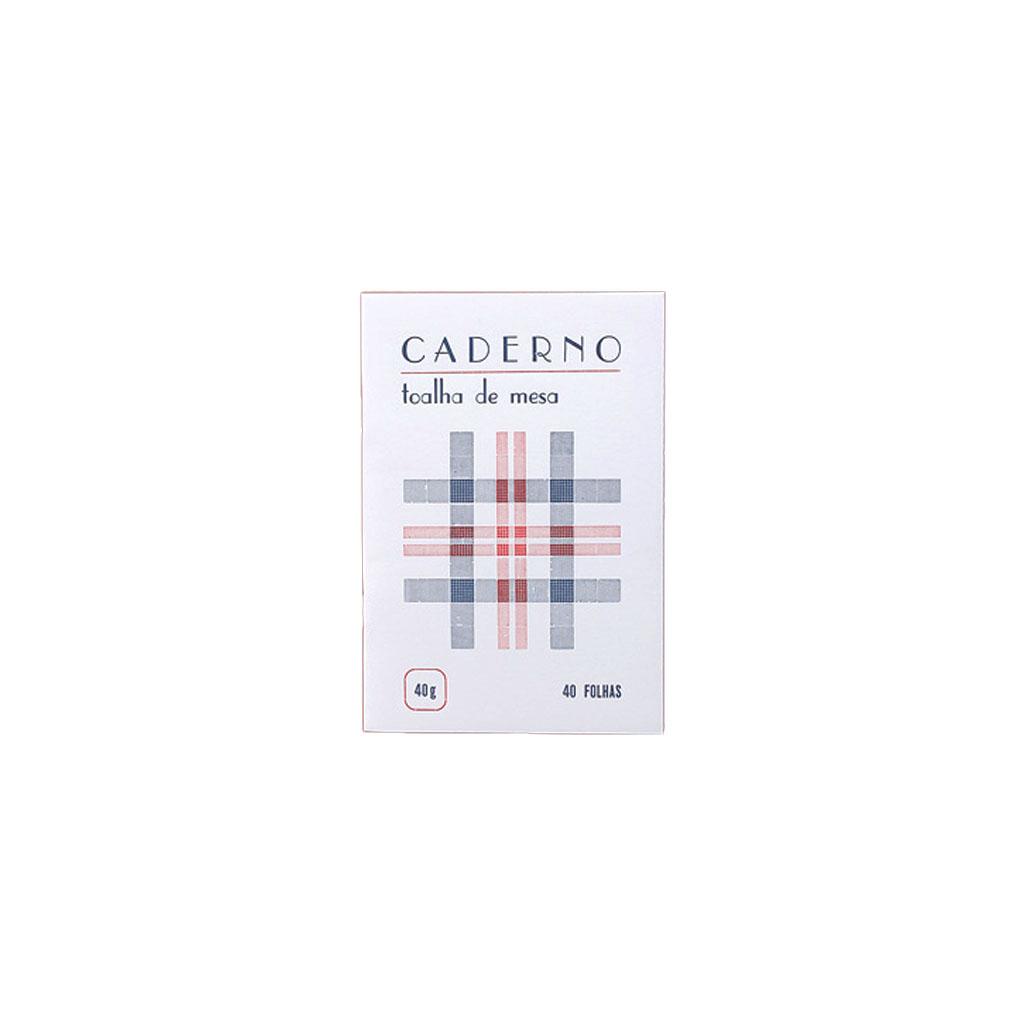 Serrote - Caderno toalha de mesa