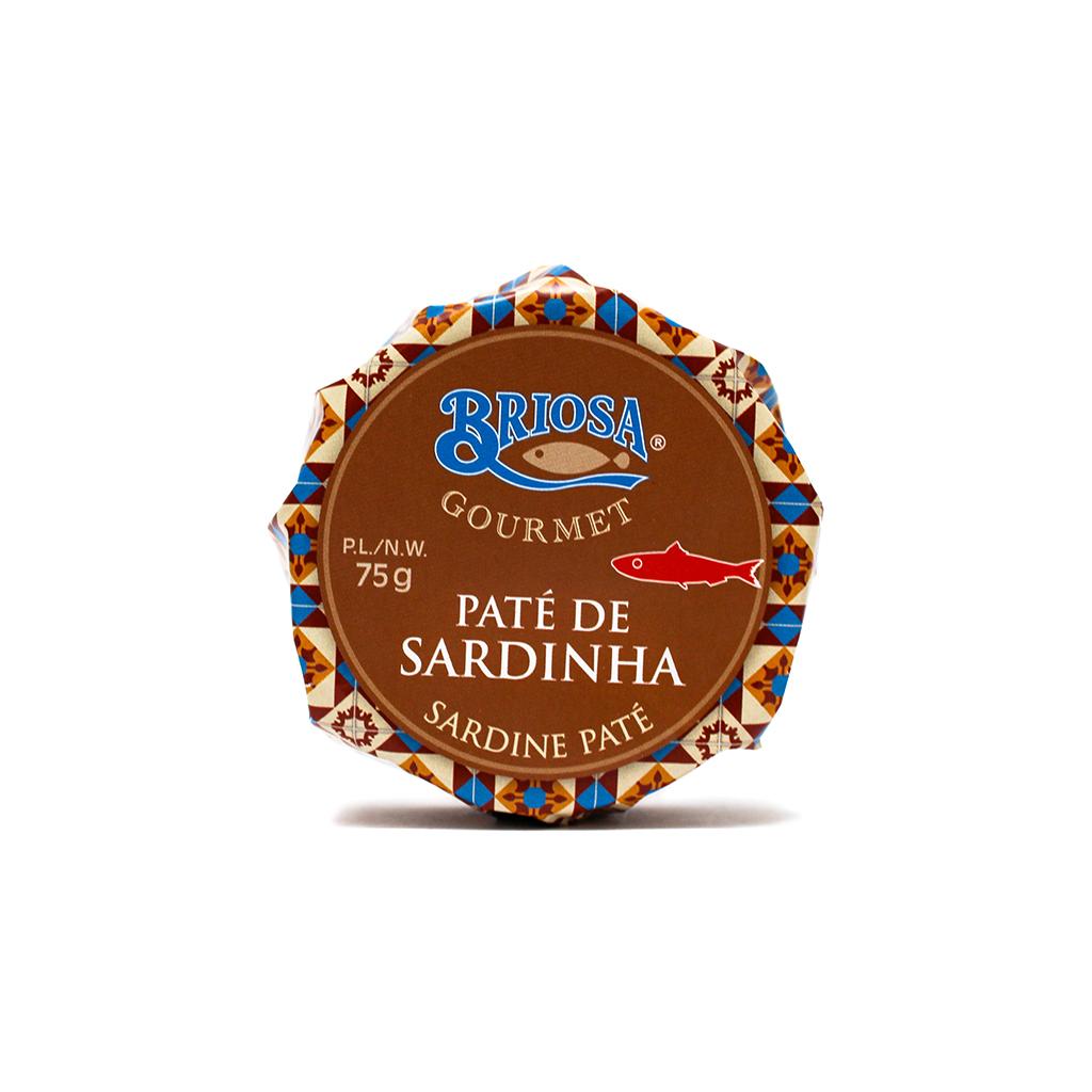 Briosa Gourmet - Paté de Sardinha