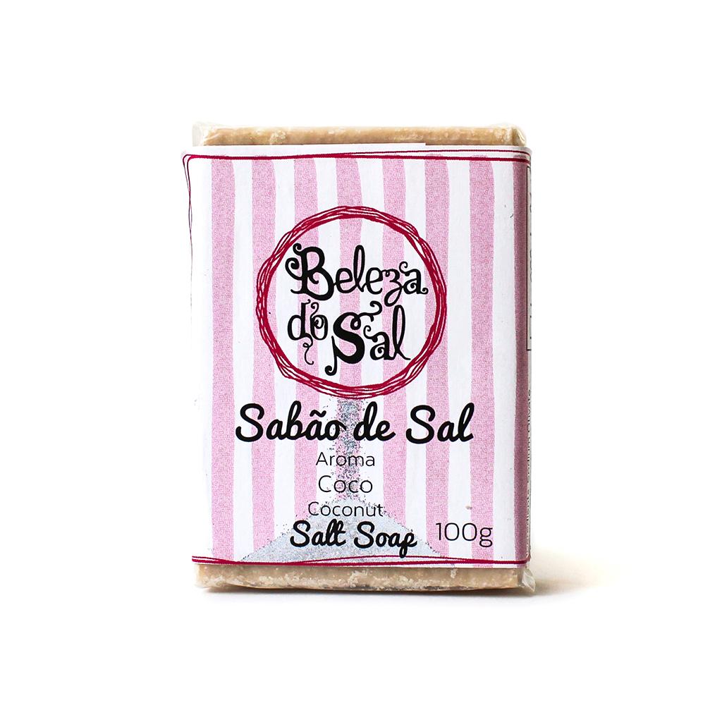 Beleza do Sal - Sabão de Sal Côco 100g