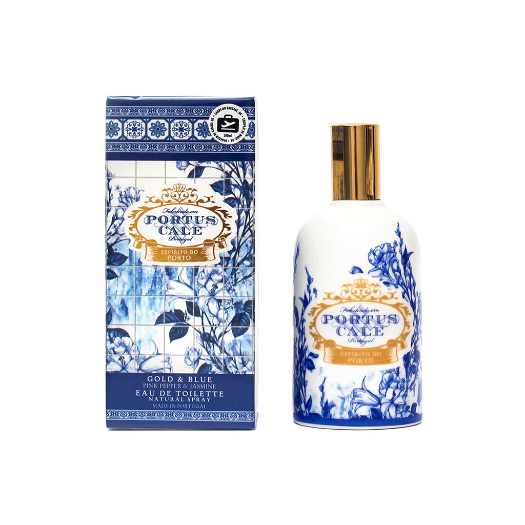 Castelbel Portus Cale - Eau de Toilette Gold & Blue 100ml
