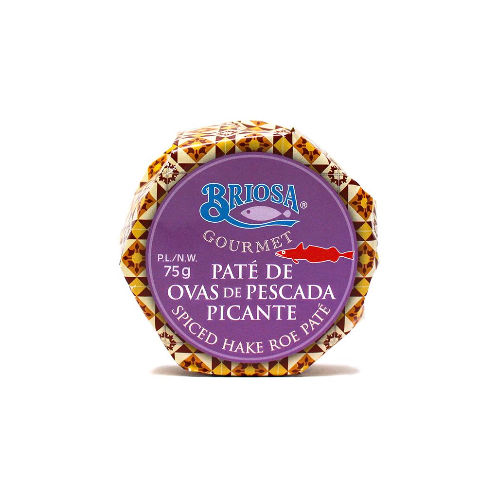 Briosa Gourmet - Paté de Ovas de Pescada Picante