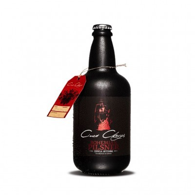 Cinco Chagas - Cerveja Artesanal Bohemian Pilsner