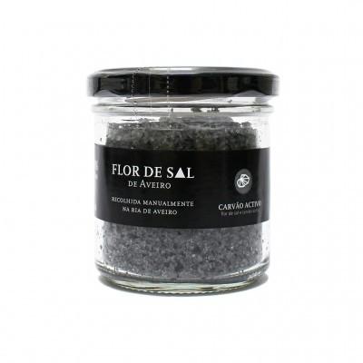 Flor de Sal - Flor de Sal com Carvão Activo