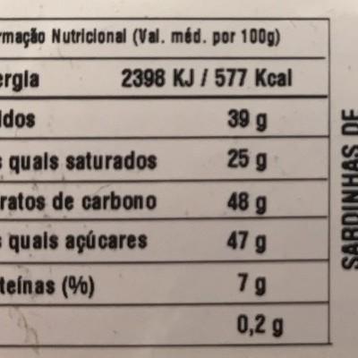 My Sugar - Caixa com 3 Sardinhas de Chocolate