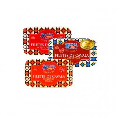 Briosa Gourmet - Filetes de Cavala