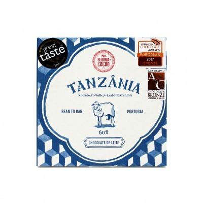 Feitoria do Cacau - Chocolate de Leite 60% Tanzânia 50g