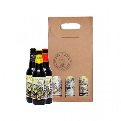 Cinco Chagas - Caixa com Cervejas Artesanais