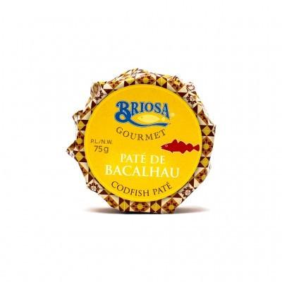 Briosa Gourmet - Paté de Bacalhau