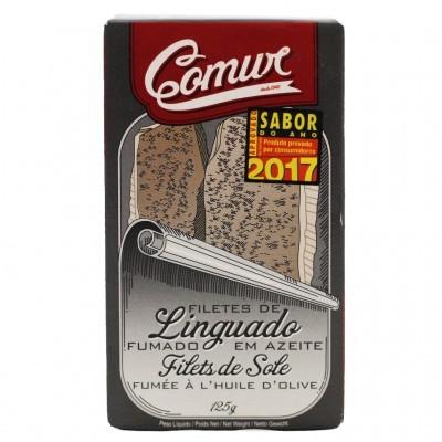 Comur - Filetes de Linguado Fumado em Azeite