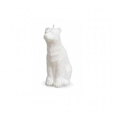 Manulena - Vela Urso Polar Branco Mate