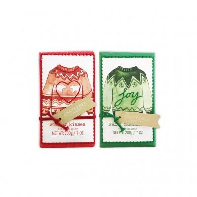 Castelbel - Sabonetes Natal Cosy Sweaters