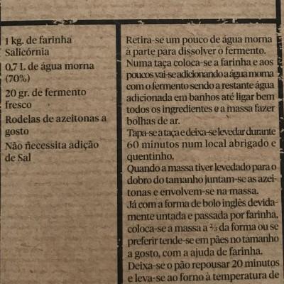 Moagem Carlos Valente - Farinha de Trigo com Salicórnia da Ilha dos Puxadoiros