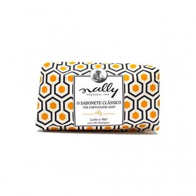 Nally - Sabonete Clássico Leite e Mel
