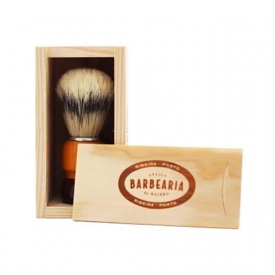 Antiga Barbearia do Bairro - Pincel de Barbear Artesanal Ribeira