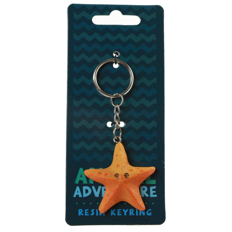 Porta-chaves Aventura Animal - Estrela do Mar