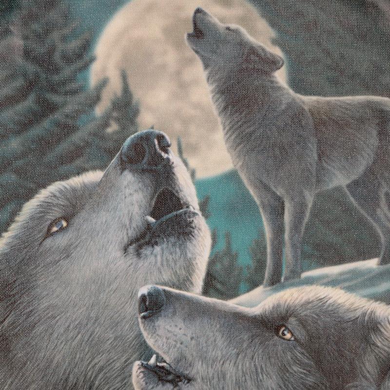 Espanta espíritos Lobos de 60cm