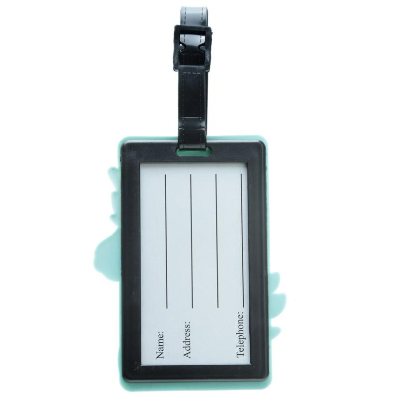 Identificador de mala de viagem em PVC - unicórnio encantado