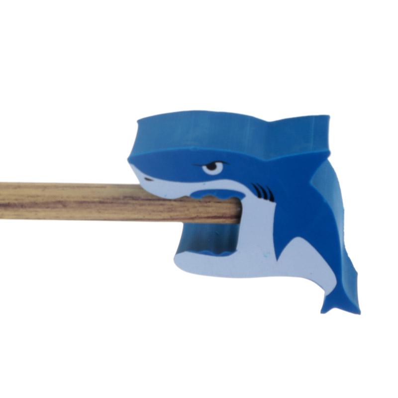 Lápis com borracha Tubarão