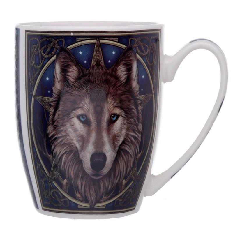 Caneca cerâmica Cabeca de Lobo