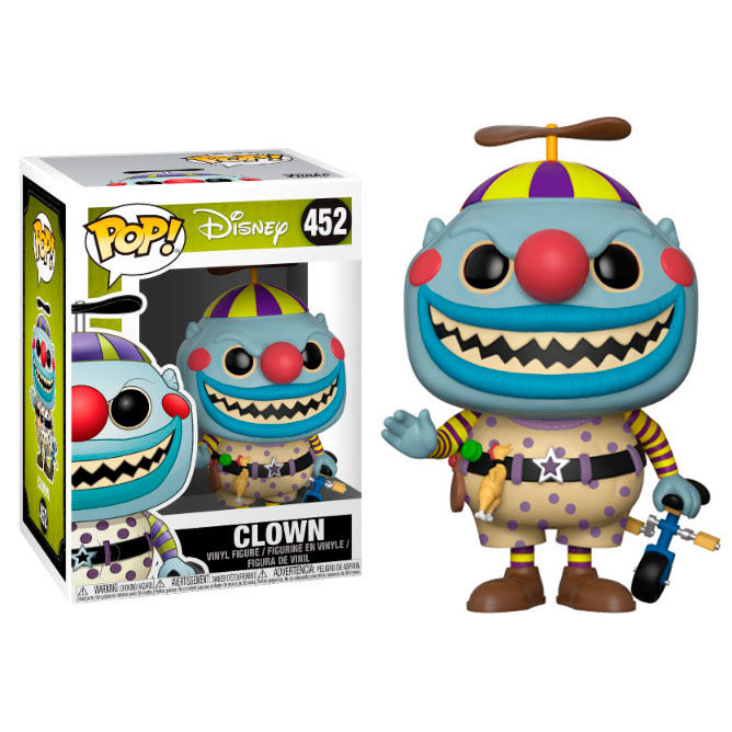 Figura POP Disney O estranho mundo de Jack The Nightmare before Christmas Clown