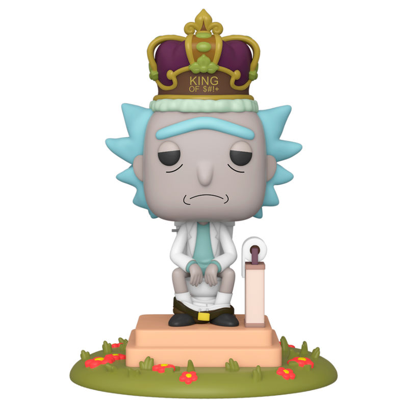 Figura POP Rick & Morty King with Sound