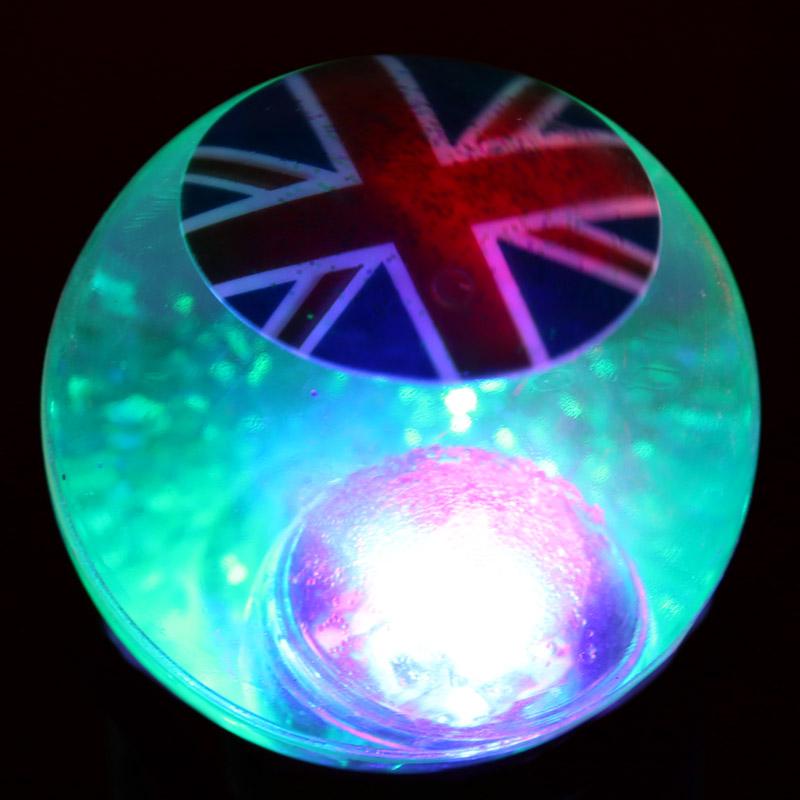 Bola Saltitona com Luz Bandeira Reino Unido