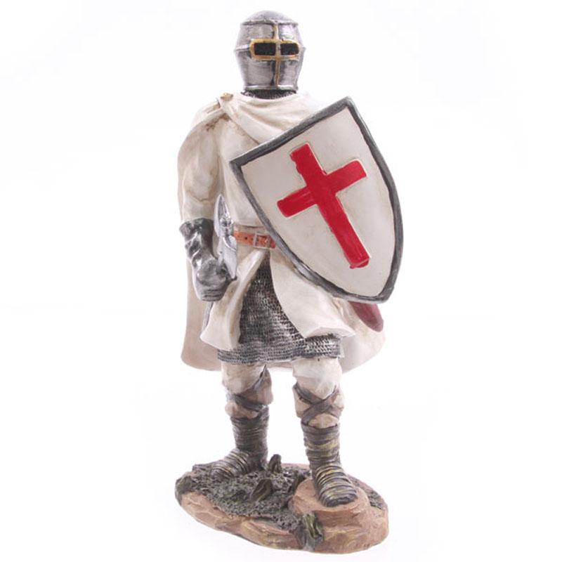 Cavaleiro de Cruzadas em batalha
